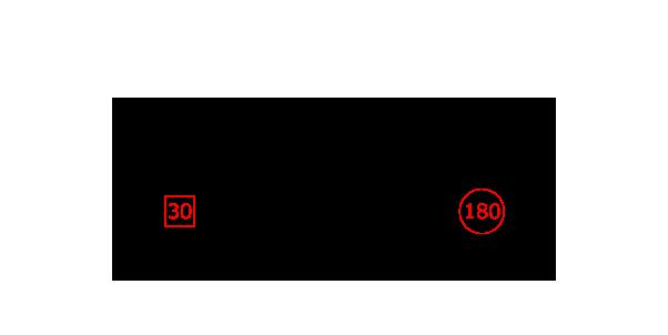 6頭放牧した場合の図に仮の数字を書き込む