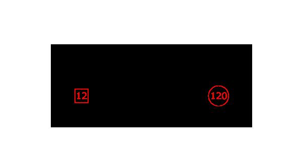 10頭放牧した場合の図に仮の数字を書き込む